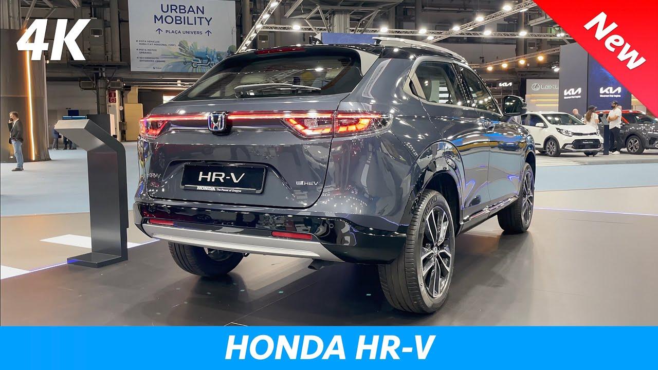 Honda HR-V 2022 - FIRST Full Review in 4K (Exterior - Interior - Infotainment) e:HEV