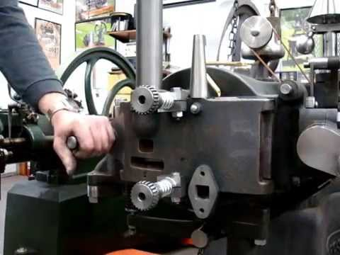 Hand Scraped cast iron slide valve demonstrating  lack of frictional force with a static oil film