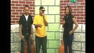 hugo y favy en el programa Qmañana canal 57
