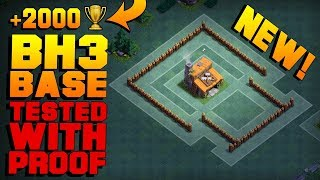 BEST Builder Hall 3 Base w/PROOF / BH3 NEW ANTI 1 STAR CoC Builder Base | Clash of Clans