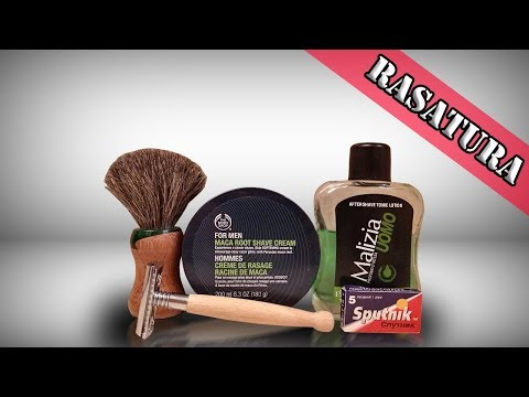 RASATURA | The Body Shop Maca Root - Edwin Jagger MOD & Sput