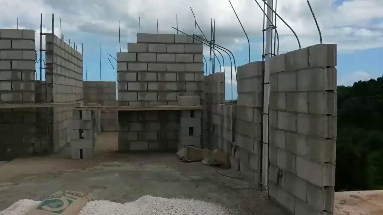 My jamaican dream house part 3 1st floor building a for Building a house in jamaica