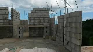 My Jamaican dream house Part 3 1st  floor  ( Building a house in Manchester Jamaica )