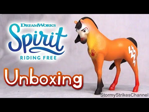 Spirit Riding Free - WAR PAINT SPIRIT - Unboxing & Review - Just Play Mystery Box Toy Horse