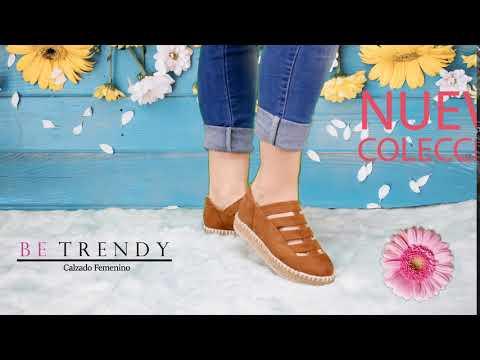 "BE TRENDY - Calzado Femenino ""Fabricantes de calzado de México"" - Primavera verano 2018"