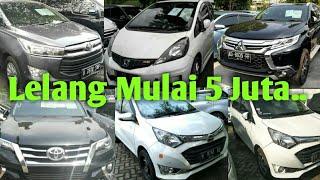 Busseeeeetttt 😱😱 Mobil 5 & 10 Juta..?? Mimpi di Siang Bolong.. / Lelang JBA