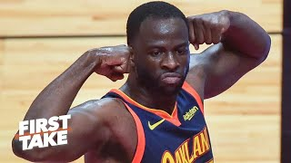 Reacting to Draymond Green calling young NBA players 'soft as hell' | First Take