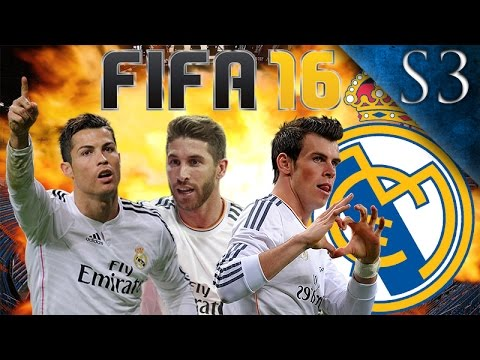 FIFA 16 - REAL MADRID CAREER MODE S3 EP. 1 - MESSI SIGNS!