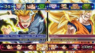 (Anime Battle) Trunks Super Saiyajin 2 VS Goku Super Saiyajin 3 - Dragon Ball Z Budokai Tenkaichi 4