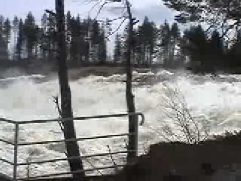 Amazing waterfall  * STORFORSEN *