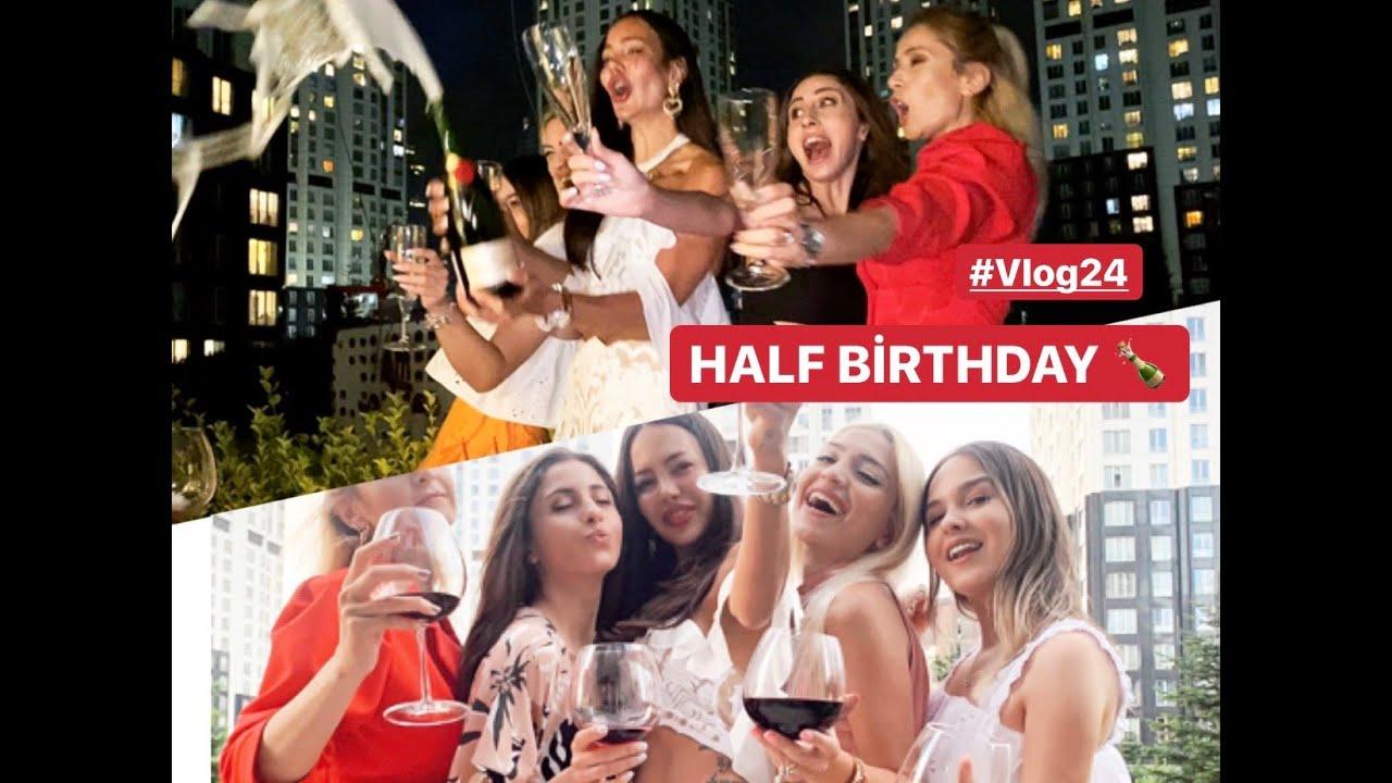 İlayda'nın Half Birthday'ını Kutladık! Botox,Arabada Makyaj ve Delirmecee!! #Vlog24