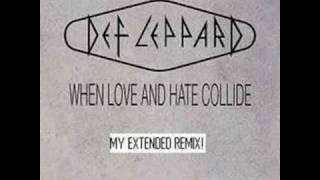 Download Mp3 Def Leppard - When Love And Hate Collide  Extended Remix