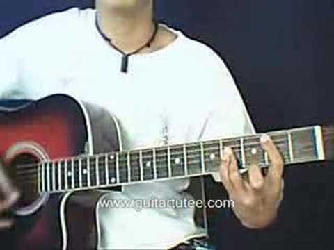 Over You (of Chris Daughtry, by www.guitartutee.com)