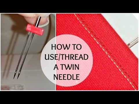 Nadira037   How to Use a Twin Needle   Stretch Fabric