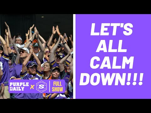 Minnesota Vikings fans need to RELAX