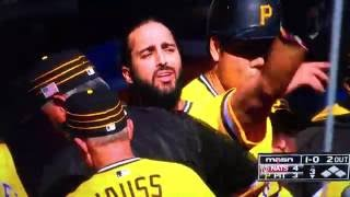 Dusty Baker F-Bomb to Sean Rodriguez Nationals Pirates Fight