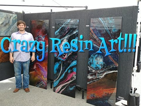 My Resin Art Festival Display - David Stein Resin ART