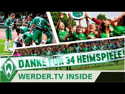 Europa, Klassenerhalt & Meisterschaft! Das war das Saisonfinale! | WERDER.TV Inside nach Dortmund