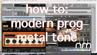 BIAS Amp - Progressive Metal Tone (Ultimate Djent / Prog Metalcore Guitar Tone Tutorial)