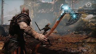 WATCH: 3 minutes of Kratos in new God of War brutalizing baddies thumbnail
