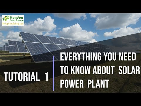 Tutorial 1 - Everything you need to know solar rooftop power plant | Hindi |Heaven Solar