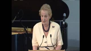 [Asan Washington Forum 2013] Gala Dinner - Speech by Madeleine K. Albright