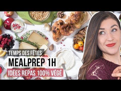 meal-prep-santé-rapide---en-moins-d'une-heure-|-idÉes-repas-vÉgÉtariens-temps-des-fÊtes