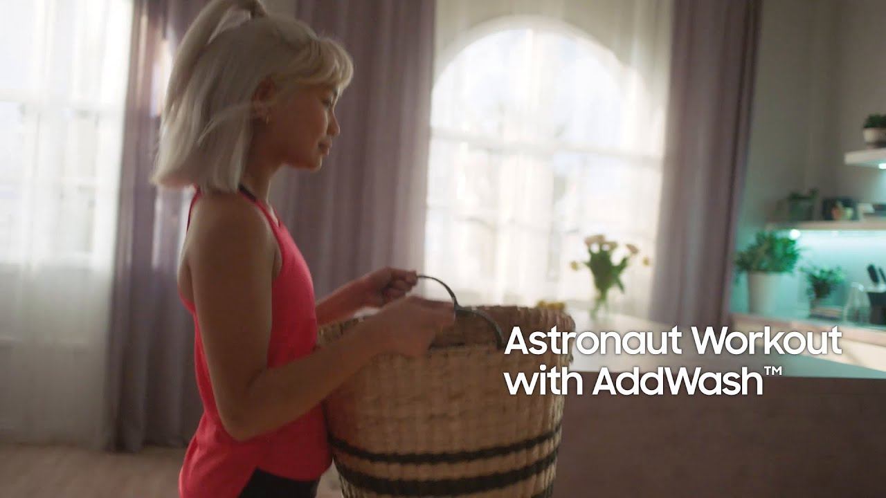 Astronaut Workout with Add Wash™