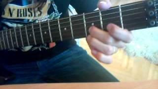 Nickelback - hero solo lesson
