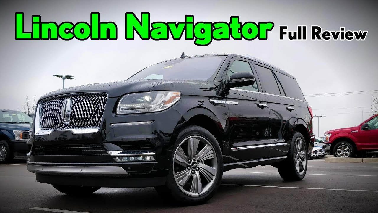 2018 Lincoln Navigator L Black Label: Review, Price >> 2018 Lincoln Navigator Full Review Black Label Reserve Select Premiere
