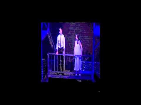 """West Side Story """"Balcony Scene"""" Darien High School"""