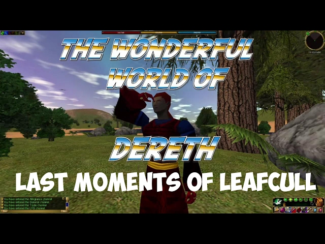 Asheron's Last Call - Last moments of Leafcull