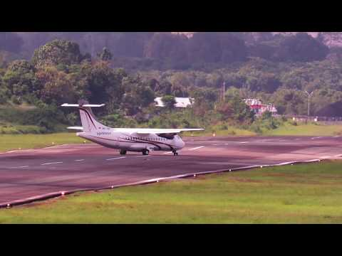 Pesawat Terbang Xpress Air Landing di Yogyakarta dan Berau (Pesawat Terbang Indonesia)