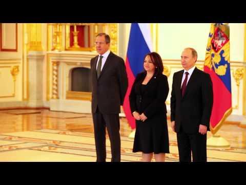 Putin recibe a los embajadores de México, España, Cuba y El Salvador