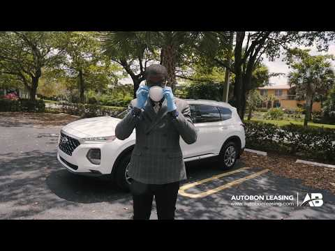Autobon Leasing & Sales | 2020 Hyundai Santa fe Delivery