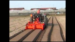 G35: Reverse Tiller with Motorized Smooth Roller