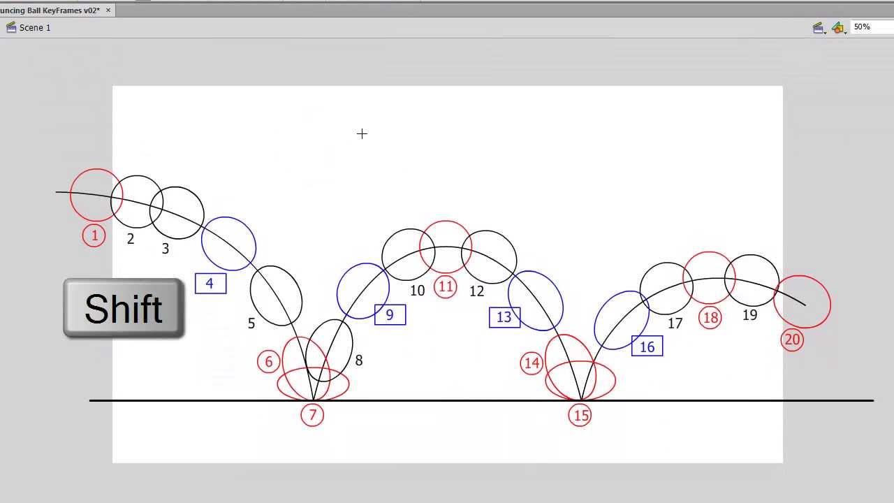 ball bounce animation