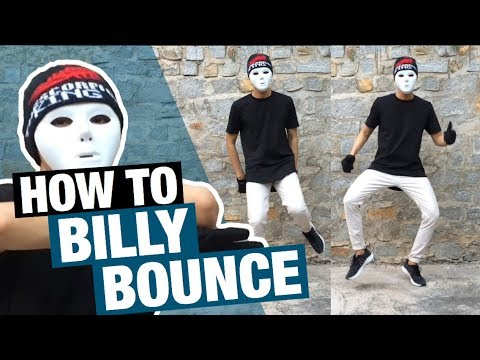 How To Do The BILLY BOUNCE Dance | Easy Tutorial Step By Step | How To with King