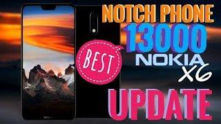 Nokis X6 update II specification II best notch phone under 15000 II full review ll