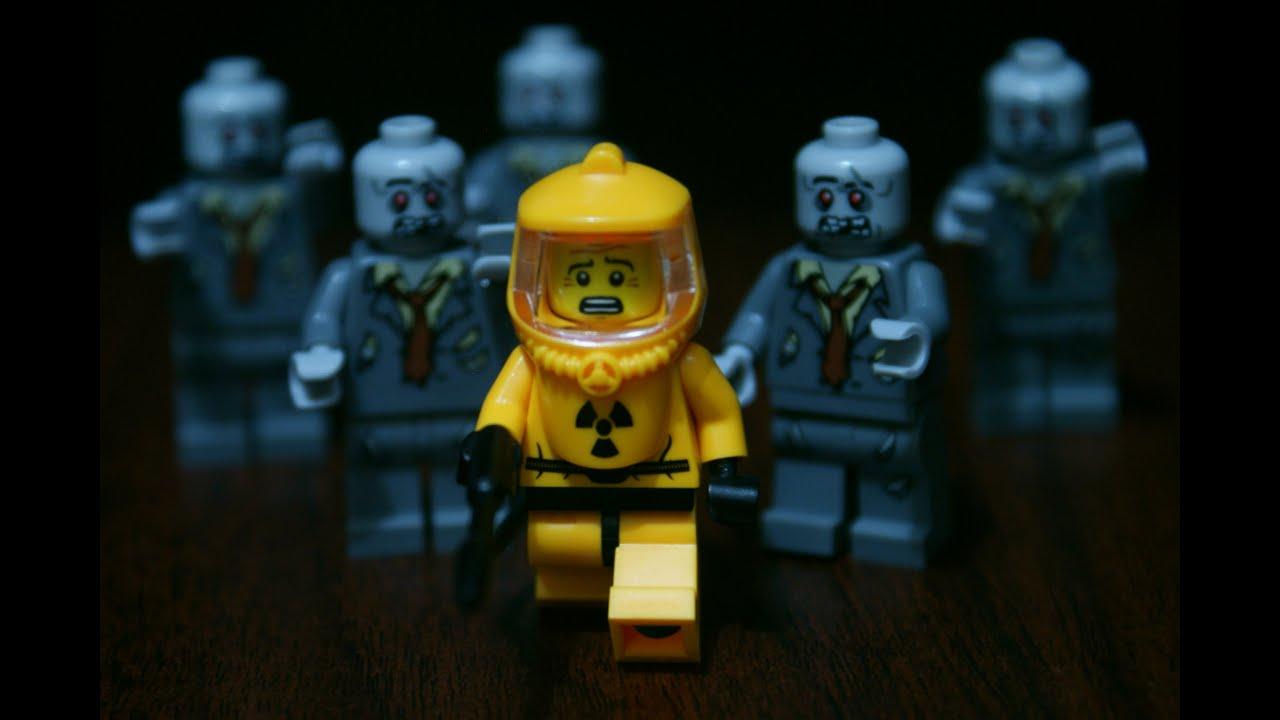 Lego Minifigure Showcase Hazmat Guy YouTube