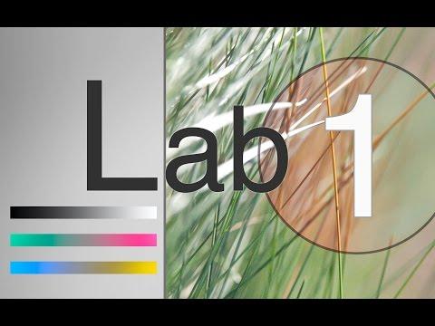 Lab 1. Введение. Устройство каналов цветового пространства  Lab