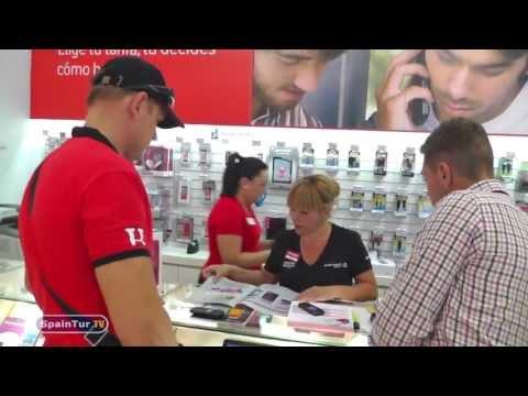 Как и где купить в Иcпании симкарту с мобильным интернетом ВИДЕОИНСТРУКЦИЯ SPAINTUR
