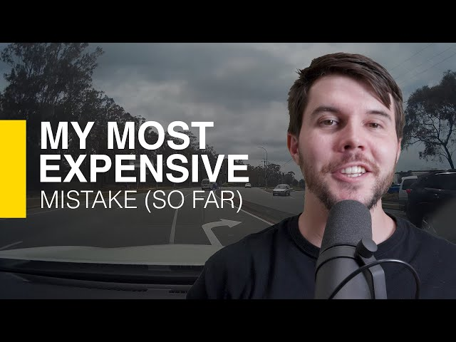 My $17,000 mistake (story time)