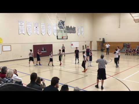Caprock Academy vs Grand Mesa Middle School, 8th Grade Boys Basketball Districts Game 1