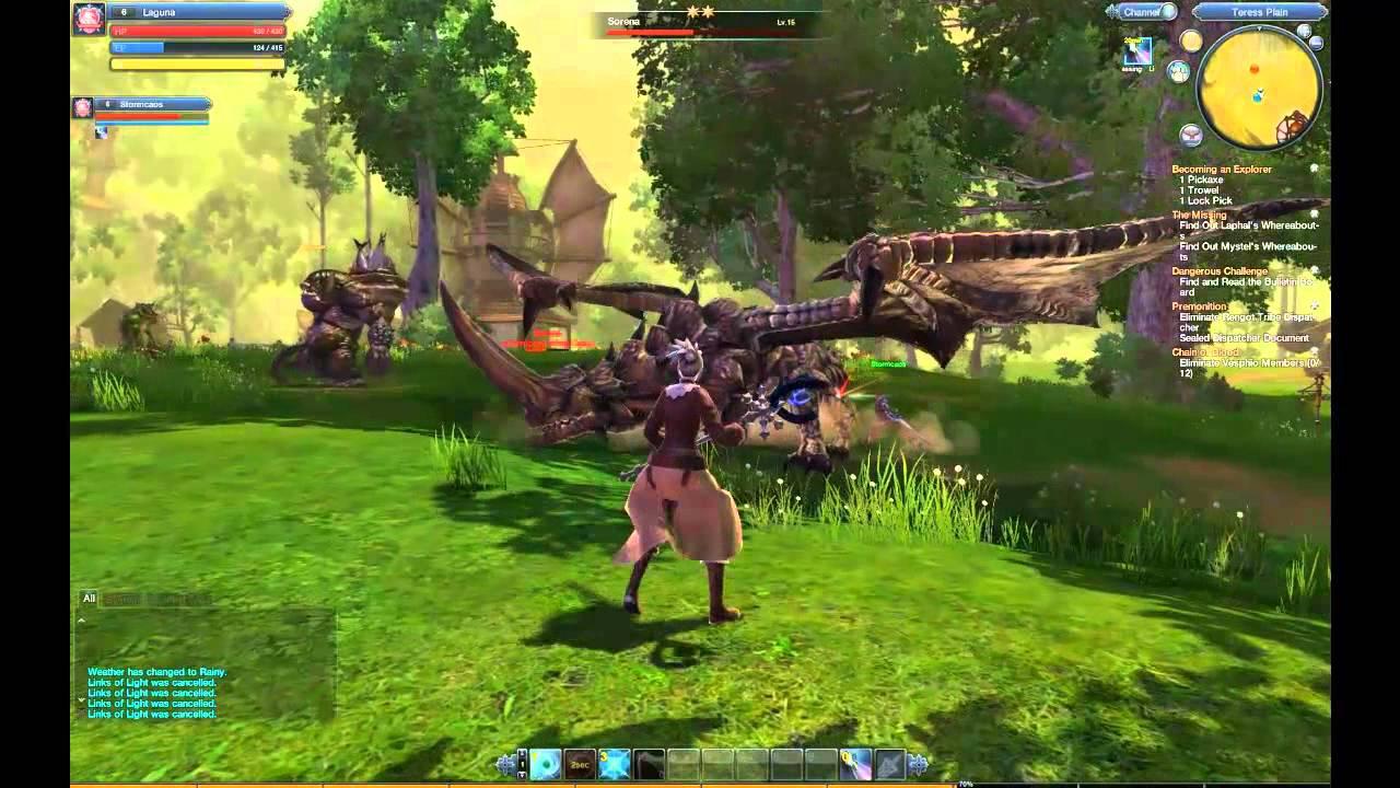 RaiderZ Online Gameplay - YouTube