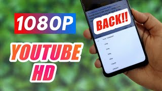 Enable Youtube Hd 1080p In Any Smartphone | How To Stream Youtube Video In 1080p | Secret Trick