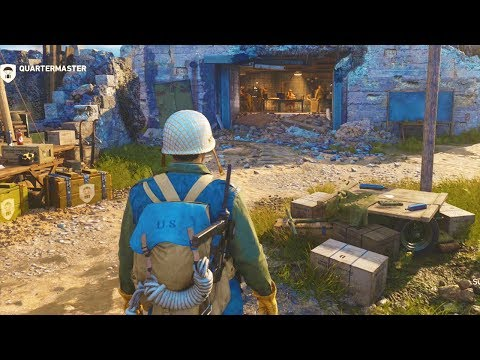 HEADQUARTERS FULL WALKTHROUGH  in Call of Duty WW2 (All You Need To Know)
