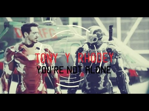 """""""Tony & Rhodey""""~You're not alone【CIVIL WAR】(+100Subs)"""