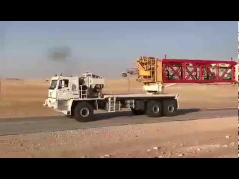 CTP Oilfield Truck working in Sahara desert_ 01