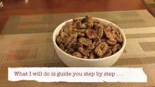 How To Make Christmas Candied Pecans